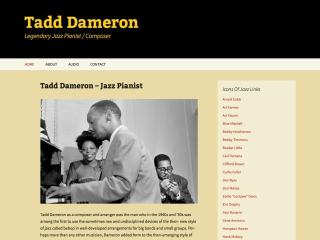 Tadd Dameron