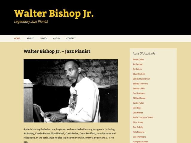Walter Bishop Jr.