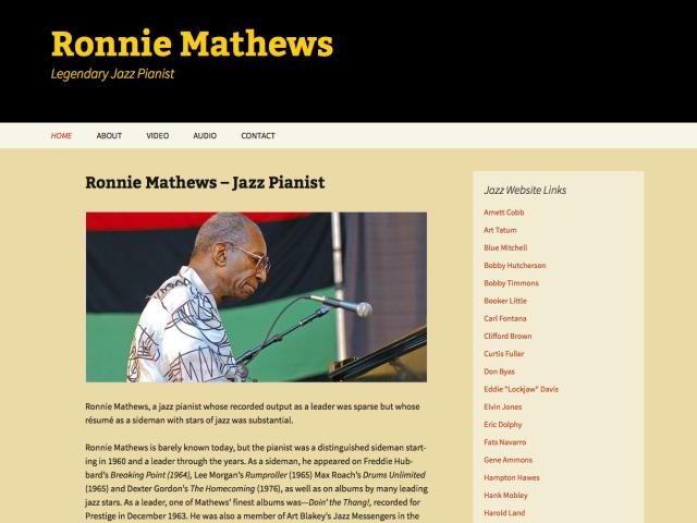 Ronnie Mathews